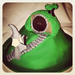 Hobit House Cake