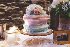 Coloured Ruffle Wedding
