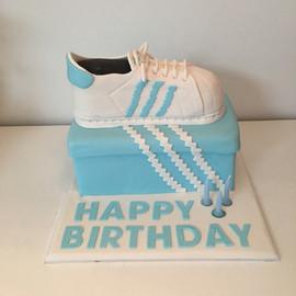Shoe and Box Cake