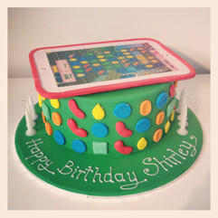 Candy Crush Ipad Cake