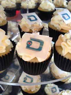 Cupcakes with Logo