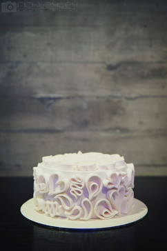 Filigire Wedding Cake