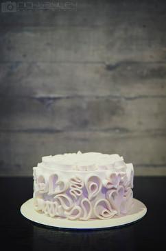 Filigire Wedding Cake