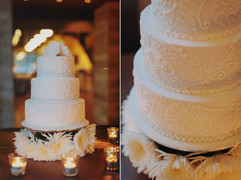 Hand Piped Wedding Cake