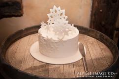 Large Snowflake Cake