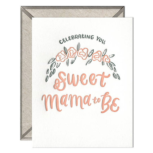 Sweet Mama to be Card