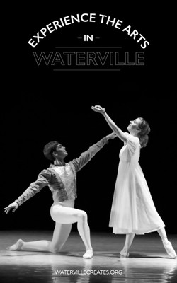 Ad for Waterville Creates!