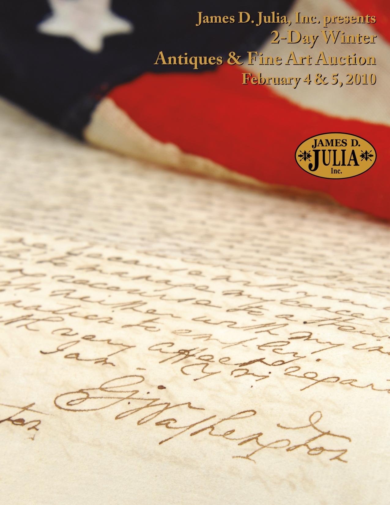 February 2010 Catalog Cover