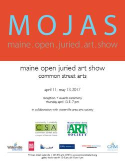 Maine Open Juried Art Show Poster