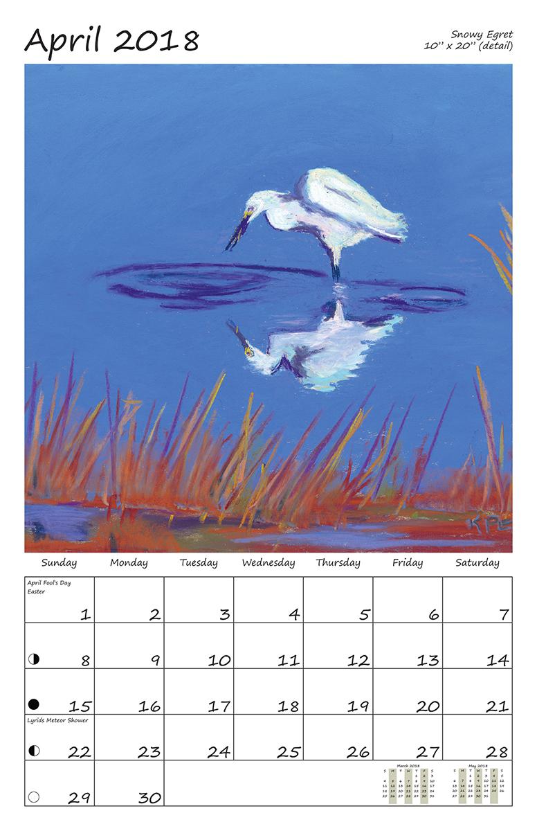 Perelka Calendar April 2018