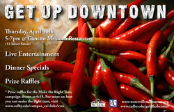 Get Up Downtown Poster