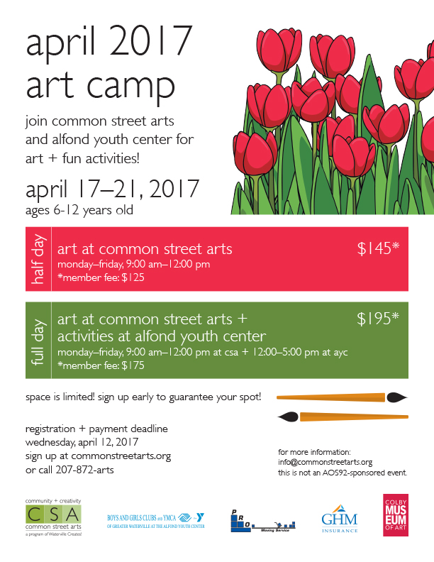 CSA art camp poster template_spring