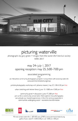 Picturing Waterville Poster Large