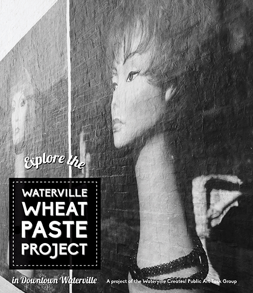 Waterville Wheat Paste Ad