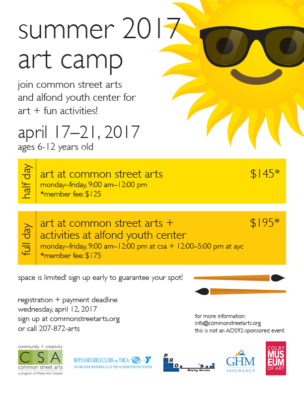 CSA art camp poster template_summer