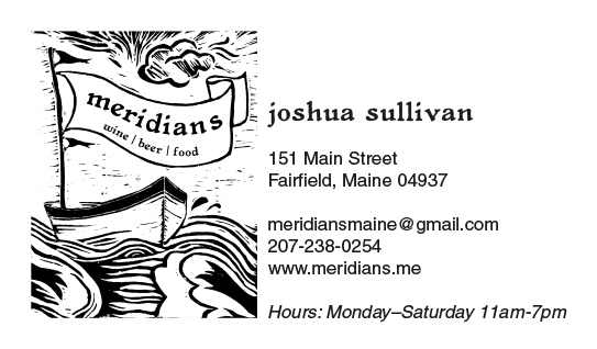 Meridians Business Card-Josh