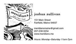 Meridians Business Card-Josh