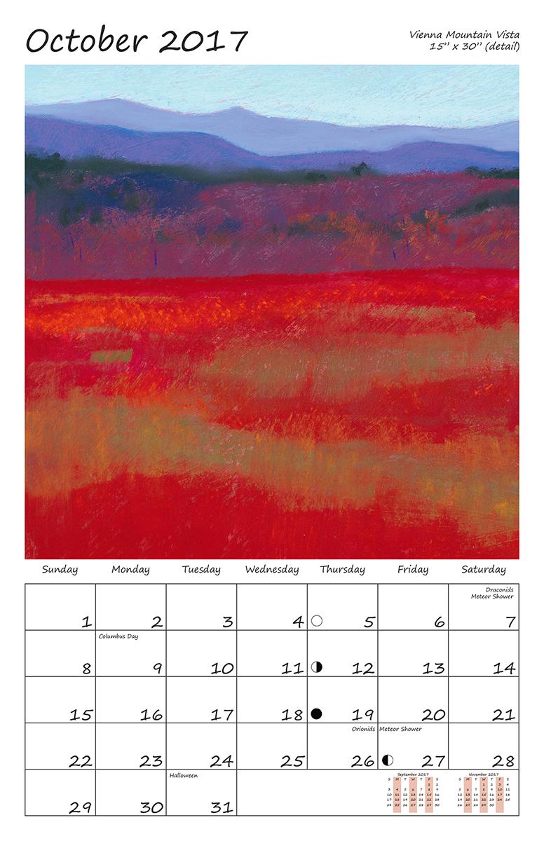 Perelka Calendar October 2017