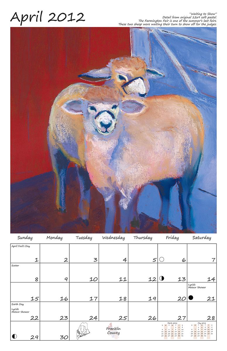 Perelka Calendar April 2012