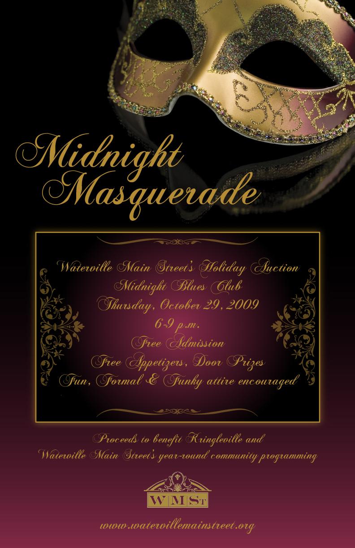 Midnight Masquerade Poster