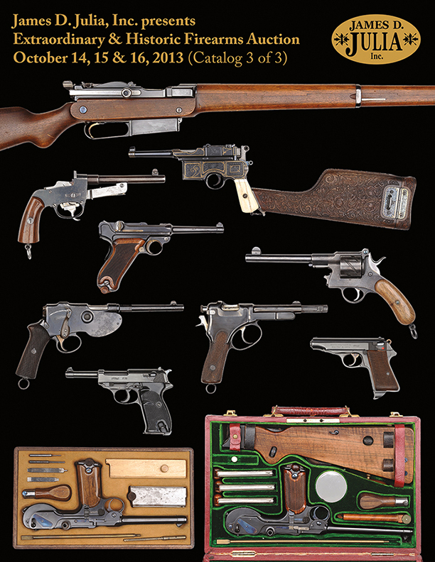 Firearms October 2013 Catalog Three Cover