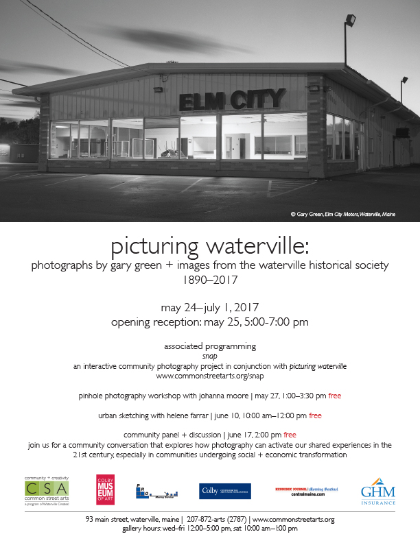 Picturing Waterville Poster
