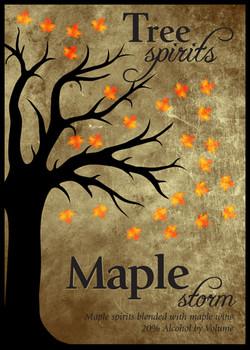 Maple Storm Label