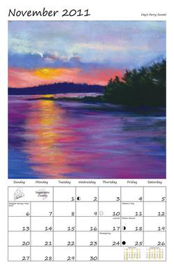 Perelka Calendar November 2011