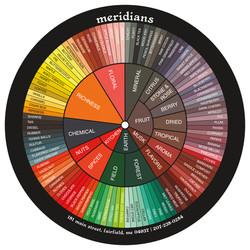 Meridians Wine Wheel