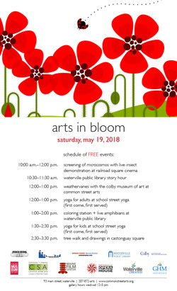 Arts in Bloom Poster