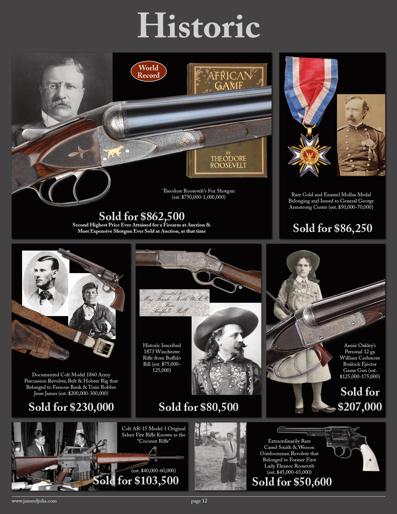 Firearms Brochure