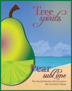 Pear subLime Label