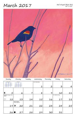 Perelka Calendar March 2017