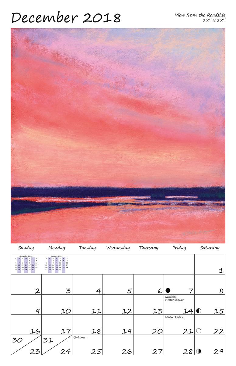 Perelka Calendar December 2018