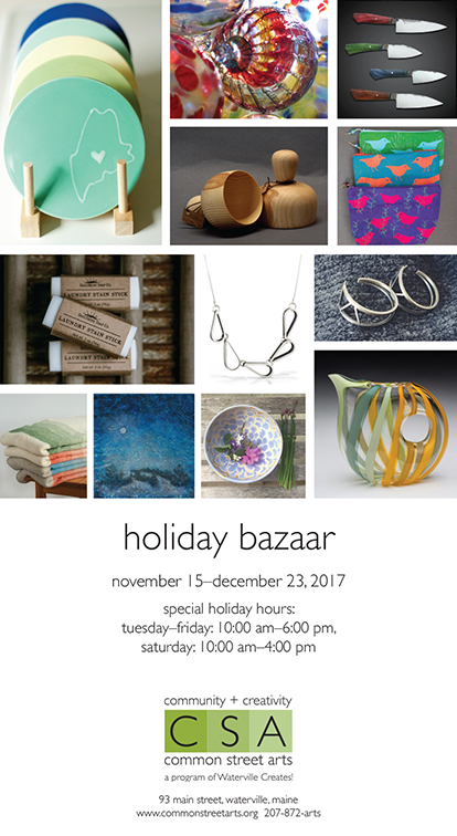 CSA Ad for Newspaper-Holiday Bazaar