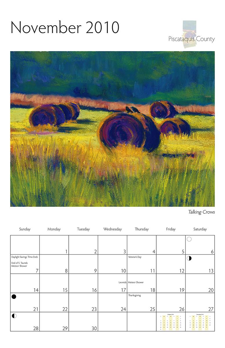 Perelka Calendar November 2010