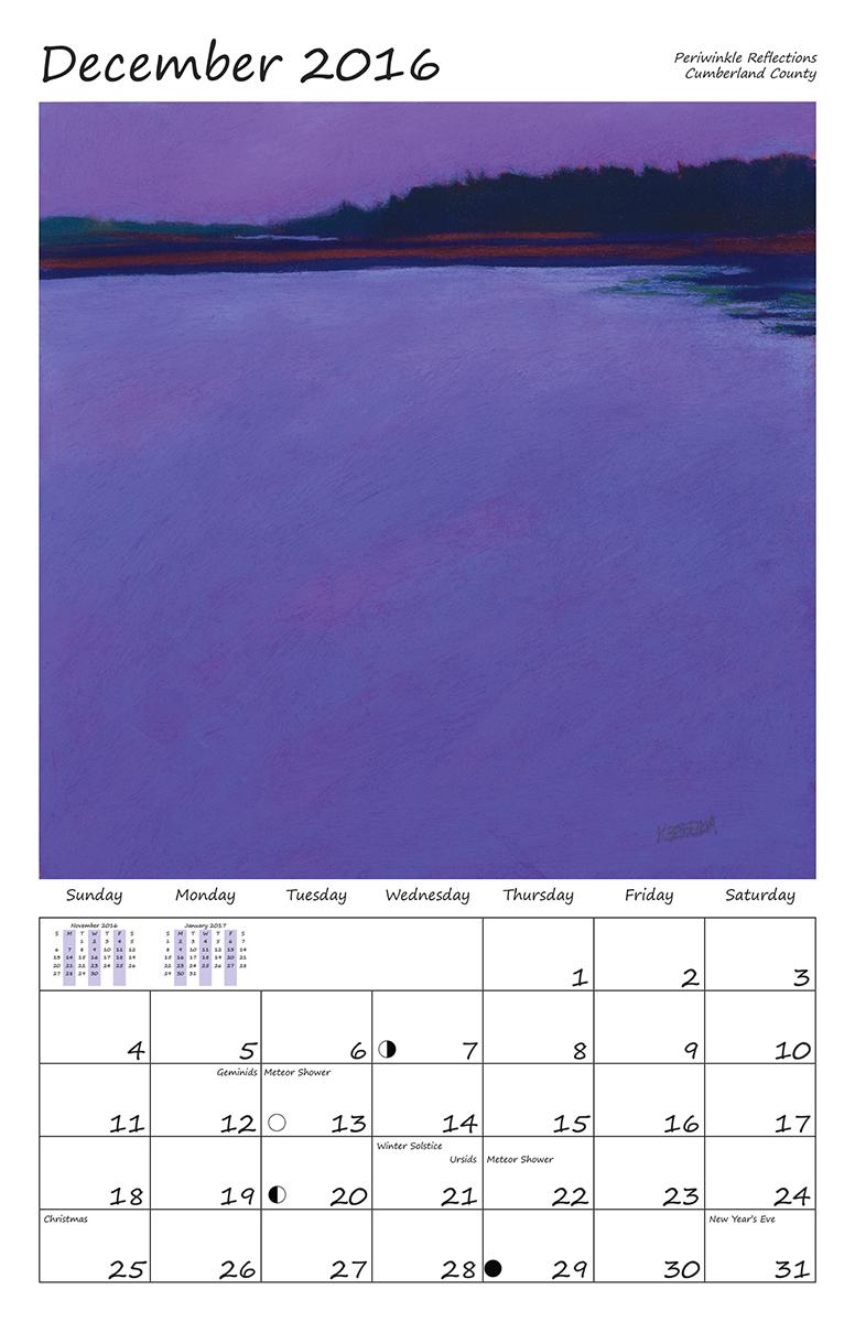Perelka Calendar December 2016