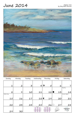 Perelka Calendar June 2014