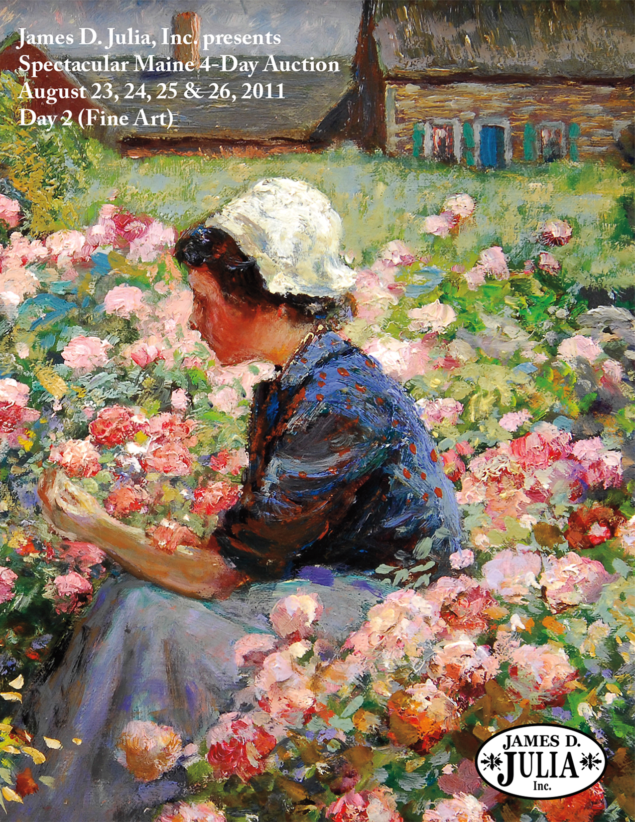 August 2011 Fine Art Catalog Cover