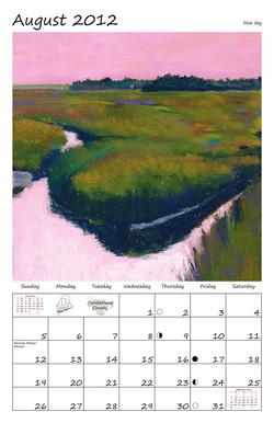 Perelka Calendar August 2012