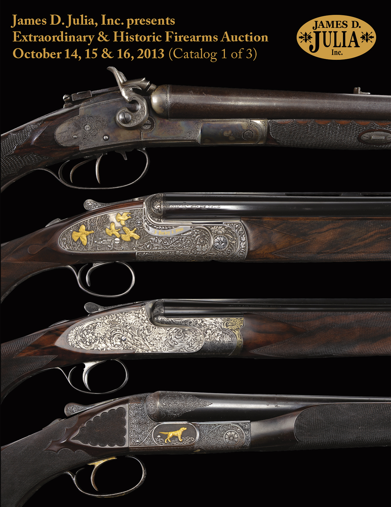 October 2013 Firearms Catalog Cover
