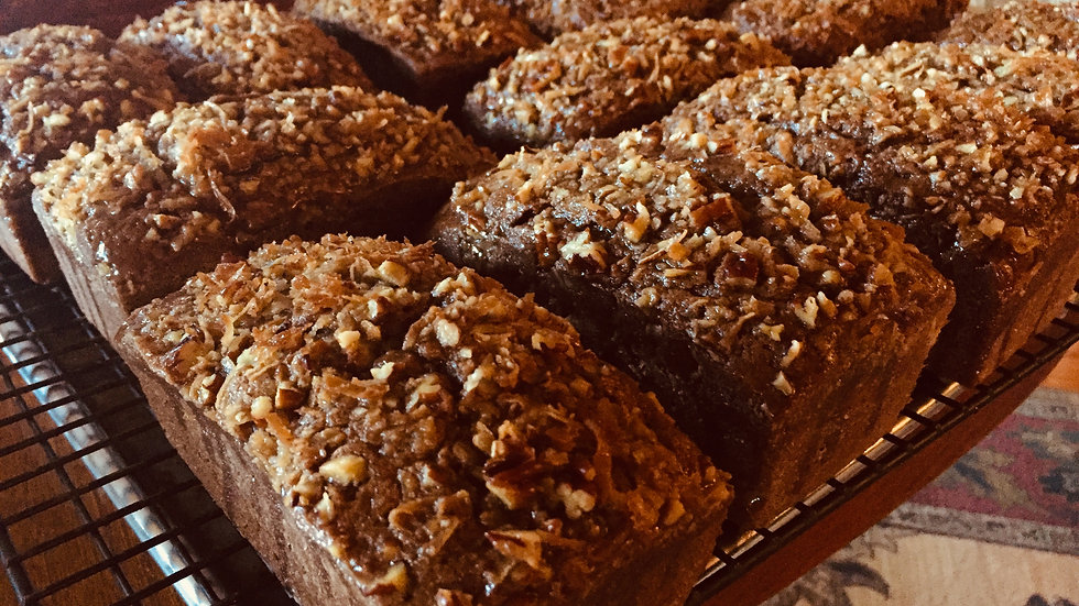 Large Loaf German Chocolate