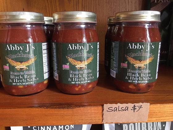 Abby J's Black Bean & Herb Salsa
