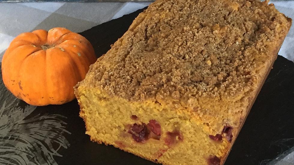 Pumpkin Cranberry w/pecan streusel