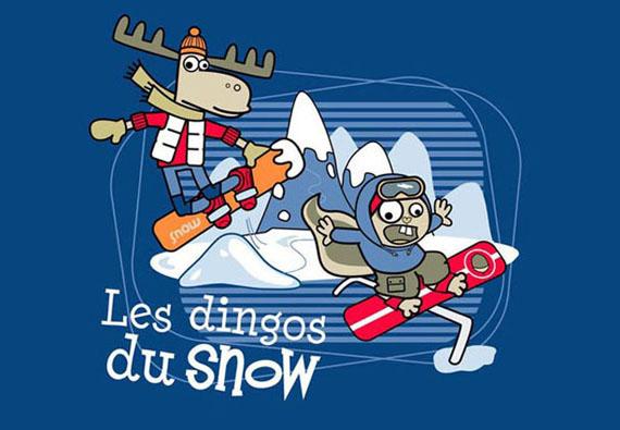 Textile : Les Dingos Du Snow