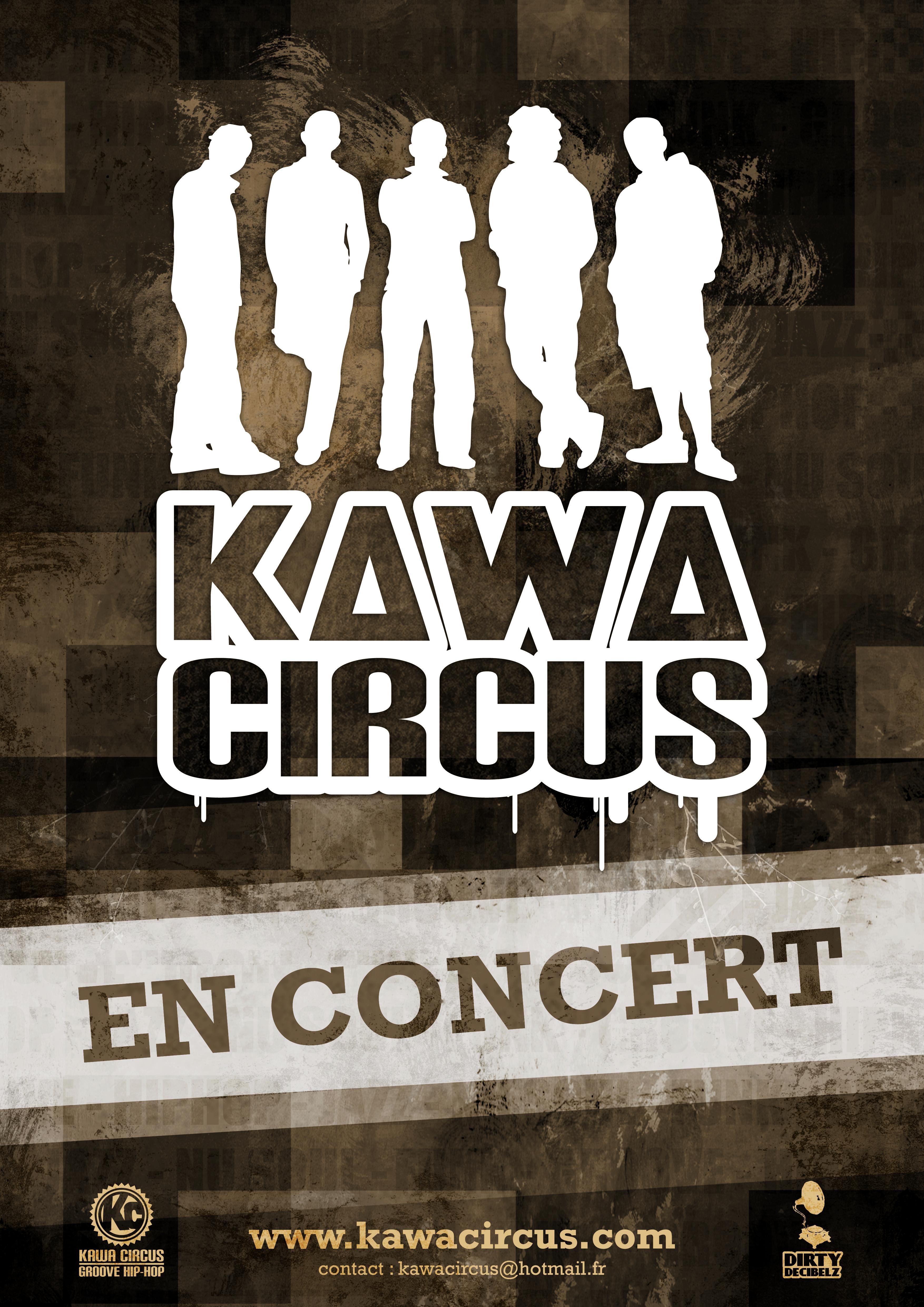 Affiche Kawa Circus