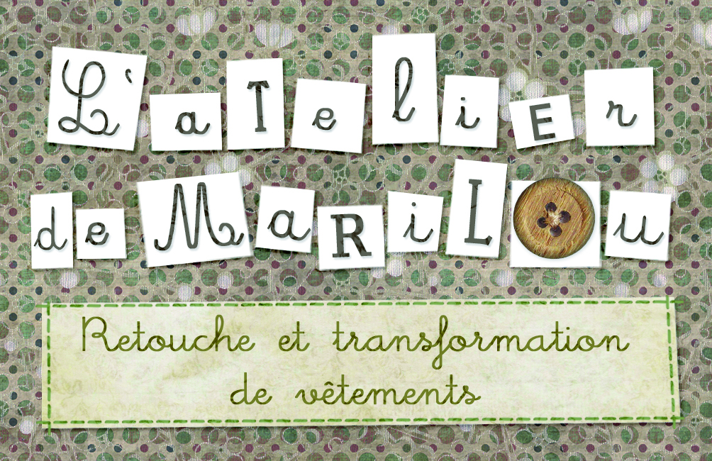 Carte de visite L'atelier de Marilou