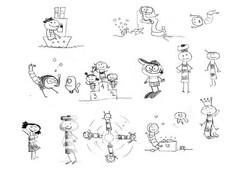 Illustrations croquis