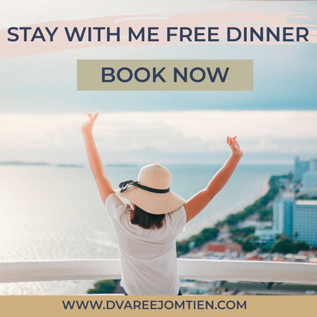 STAY WITH ME FREE DINNER