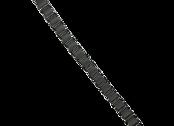 Men's Titanium Bracelets: Black